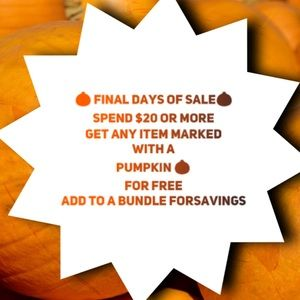 Last day of sale!!